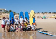 Iª Ação de formação Surf Adaptado – Agrupamento de Escolas Silves Sul
