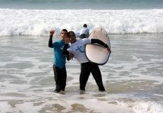 Surf Adaptado no Rip Curl Pro Portugal 2011<br>Peniche, Outubro 2011