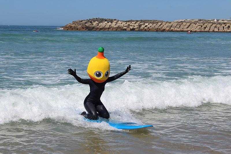 Campanha Pirilampo Mágico 2019 - Acção de Surf